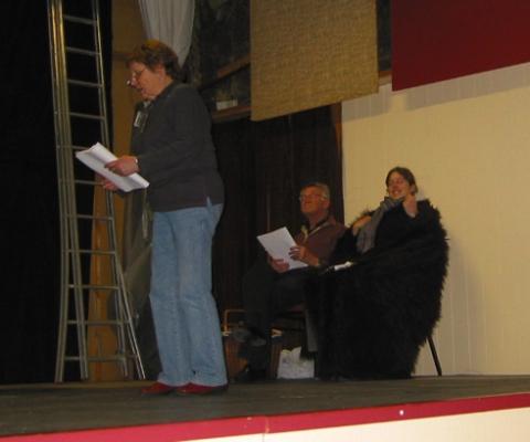 Francine, Hubert en Valerie